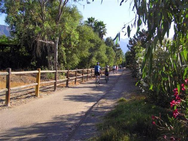 Ojai Paved Bike Path