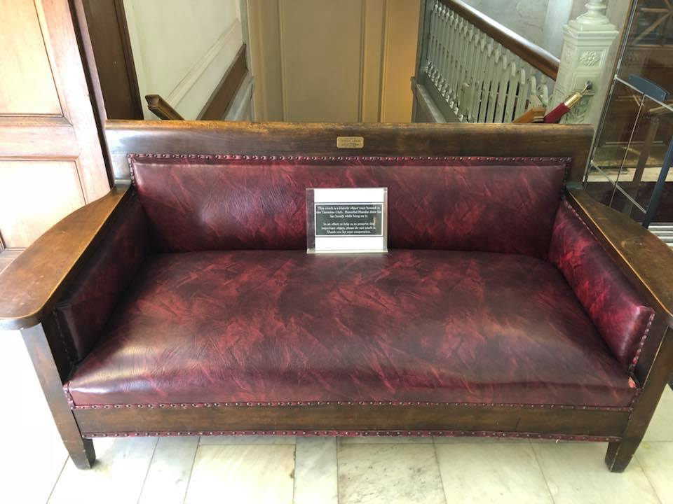 Hannibal Hamlin Death Couch