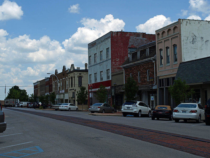 The Old Decatur Historic District