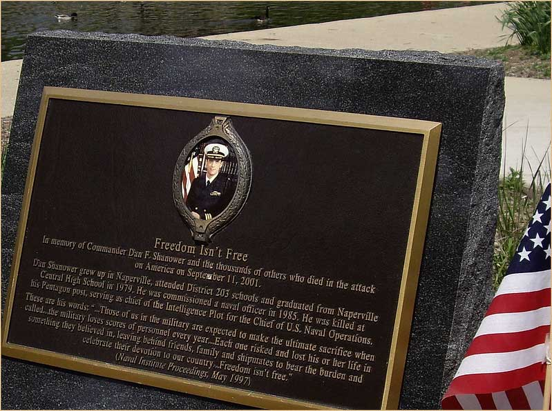 Commander Dan Shanower September 11 Memorial