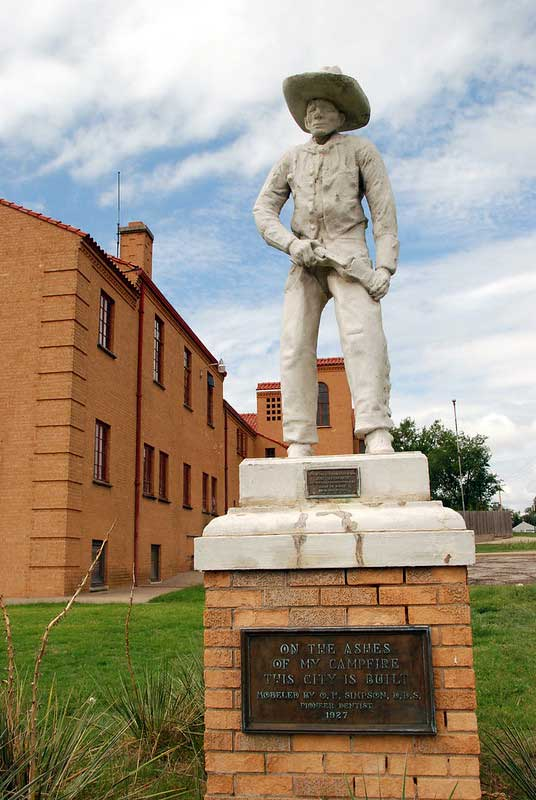 Cowboy Statue on Boot Hill
