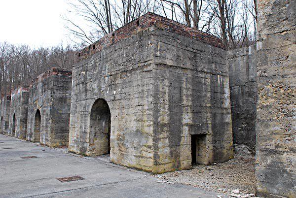 Canoe Creek Limestone Kilns