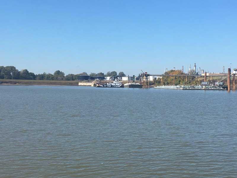 Murals at Vicksburg's Riverfront